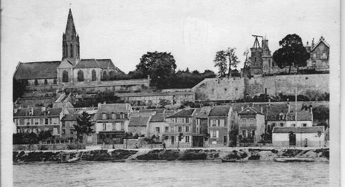 Carte postale ancienne Conflans Sainte Honorine